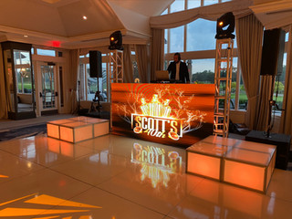 The LED Video DJ Booth