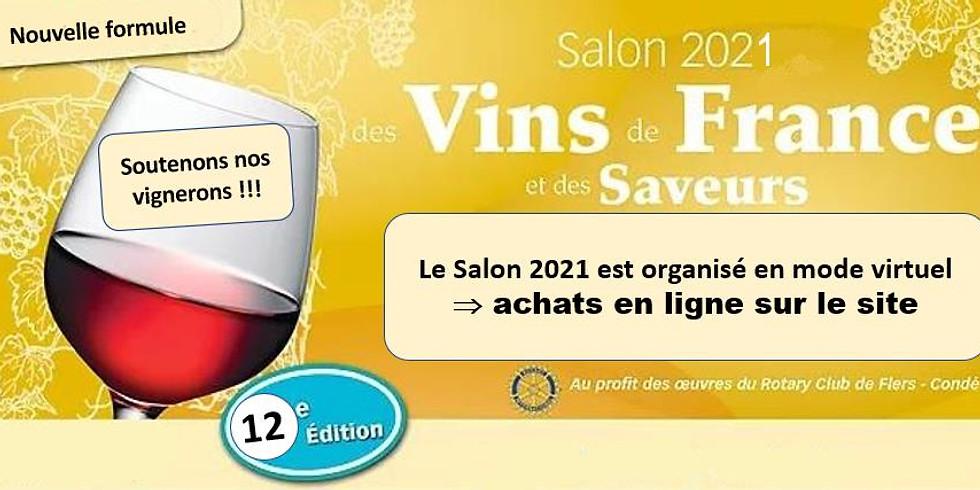 Rotary Flers-Condé: Salon des vins et des saveurs 2021