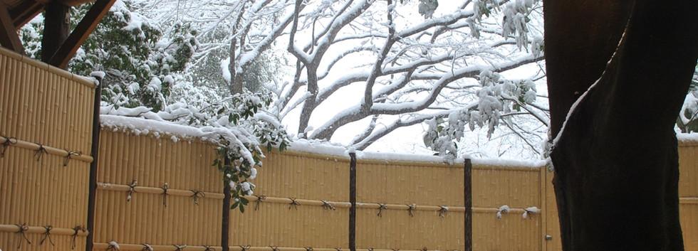 ひぐらしの湯・雪景色