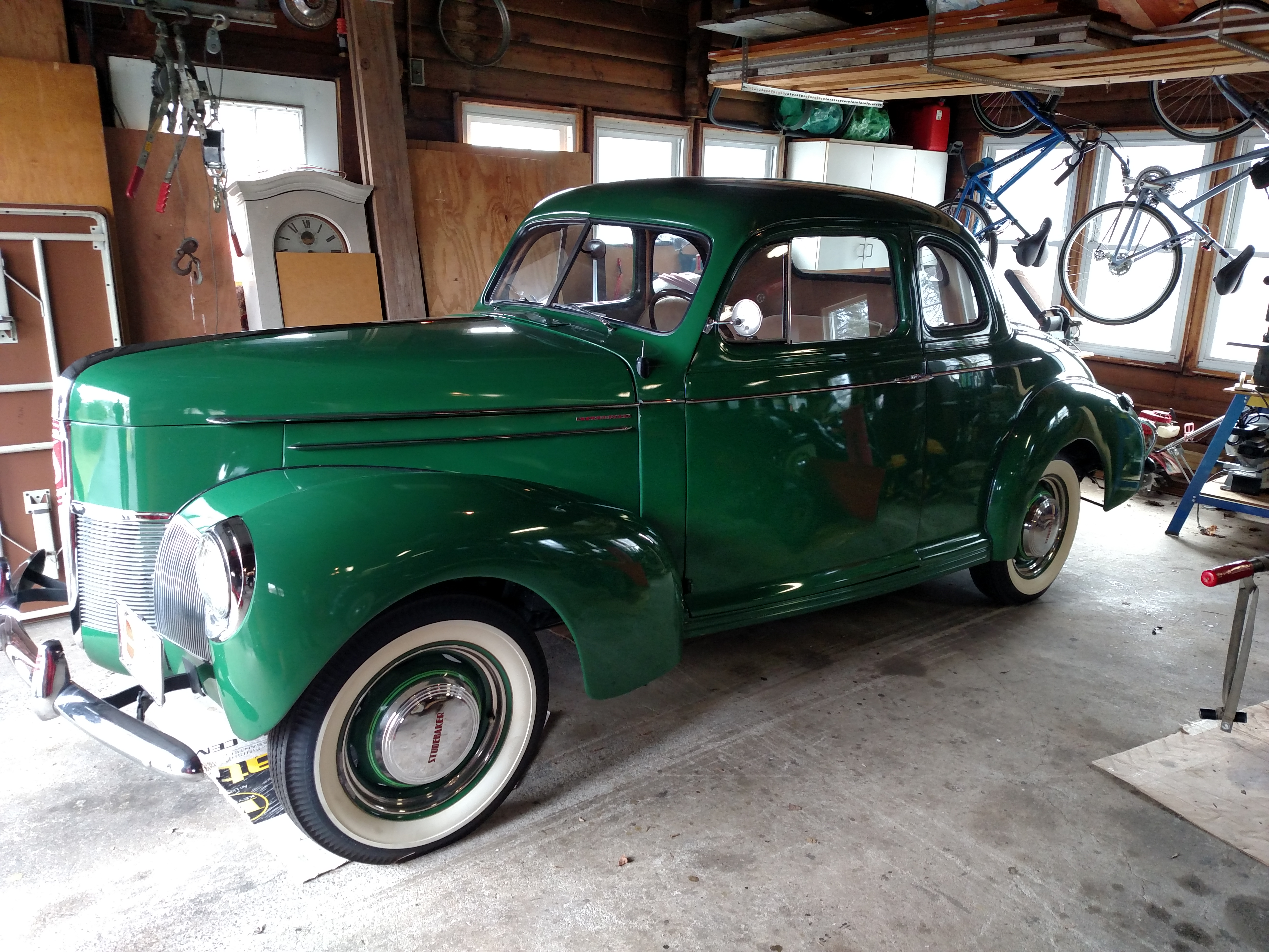 1940 Studebaker Champion Side