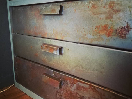 How to make rust patina on metal