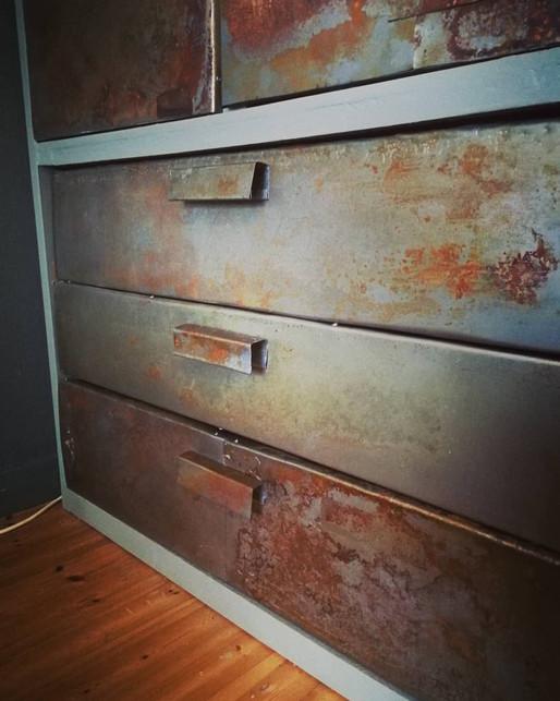 How to make rust patina on metal