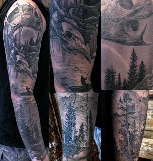 Swedish nature tattoo