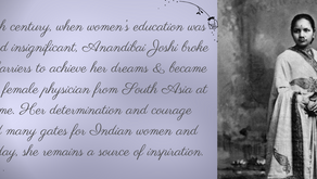 Dr. Anandibai Gopalrao Joshi - Tale of first Woman doctor from India.