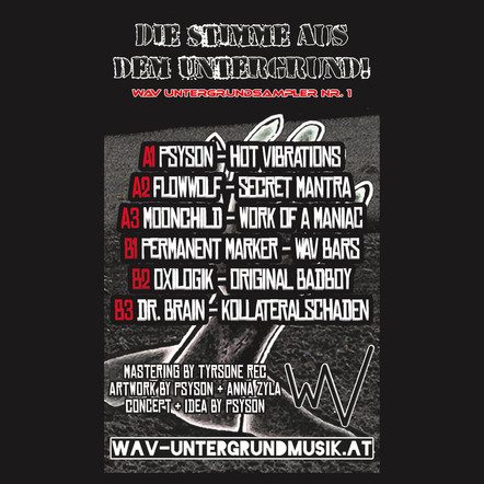 Vinyl Edition des Untergrundsamplers Nr. 1