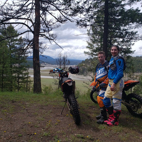 Tiffany Learns to Dirtbike Day 3 & 4