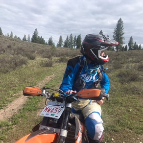 Tiffany Learns to Dirtbike Day 2