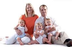 משפחה עם תאומים