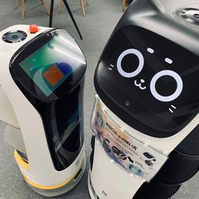ビジネスロボット株式会社様のショールームに配膳ロボット展示