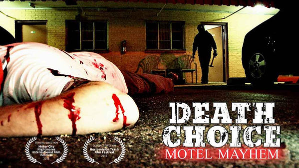 Choose Your Own Adventure Slasher movie Death Choice Motel Mayhem