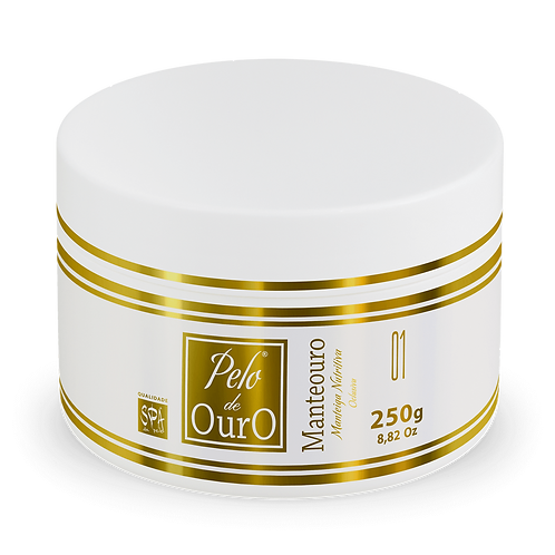 Manteouro - Manteiga Nutritiva Oclusiva Pelo de Ouro - 250g