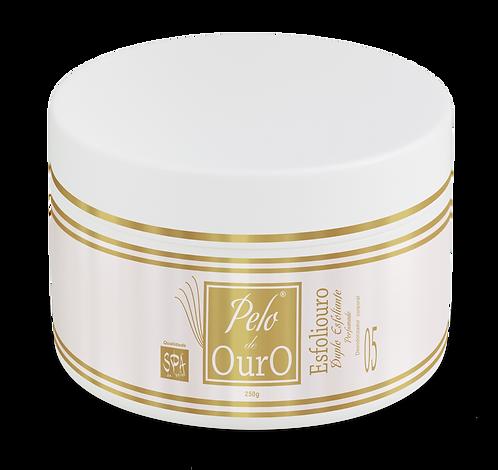 Esfoliouro Duplo Esfoliante Perfumado 250g - Pelo De Ouro