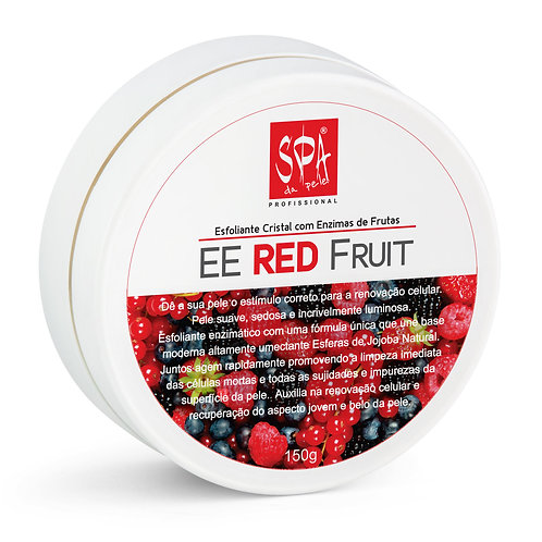 EE RED FRUIT - Esfoliante Cristal com Enzimas de Frutas 150g