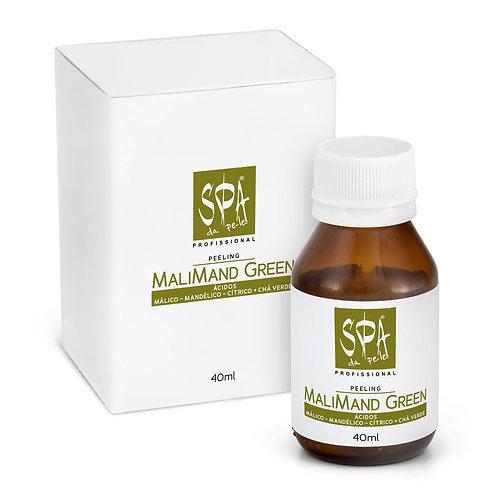 MALIMAND GREEN PEELING - Blend Ácidos Frutas & Extrato de Chá Verde 40ml