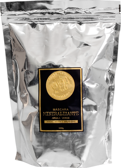 Argila Verde - Máscara Mineralizante Ofurô Premium - 1000g