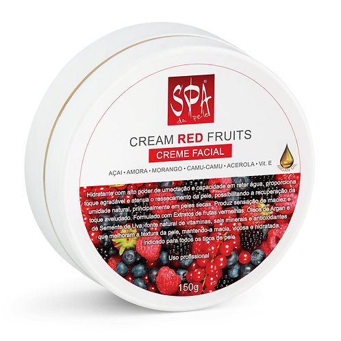 CREAM RED FRUITS - Creme Facial 150g