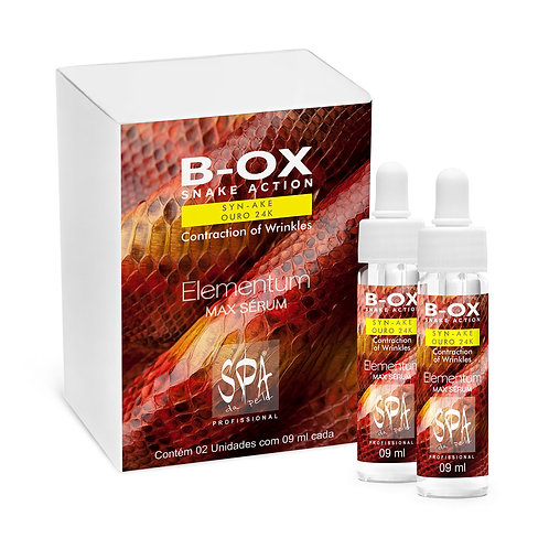 B-OX SNAKE ACTION SYN-AKE OURO 24k Contraction of Wrinkles 02x09ml
