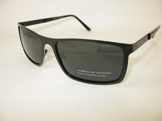 Сонцезахисні окуляри з поляризованими лінзами в металевій оправі PORSCHE Design