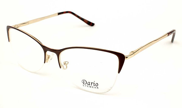 Оправа жіноча металева полуоправна DARIO 310074