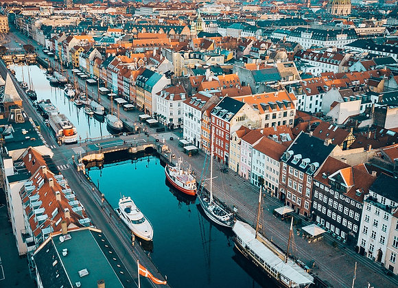 Weekend to Copenhagen - 3 days / 2 nights