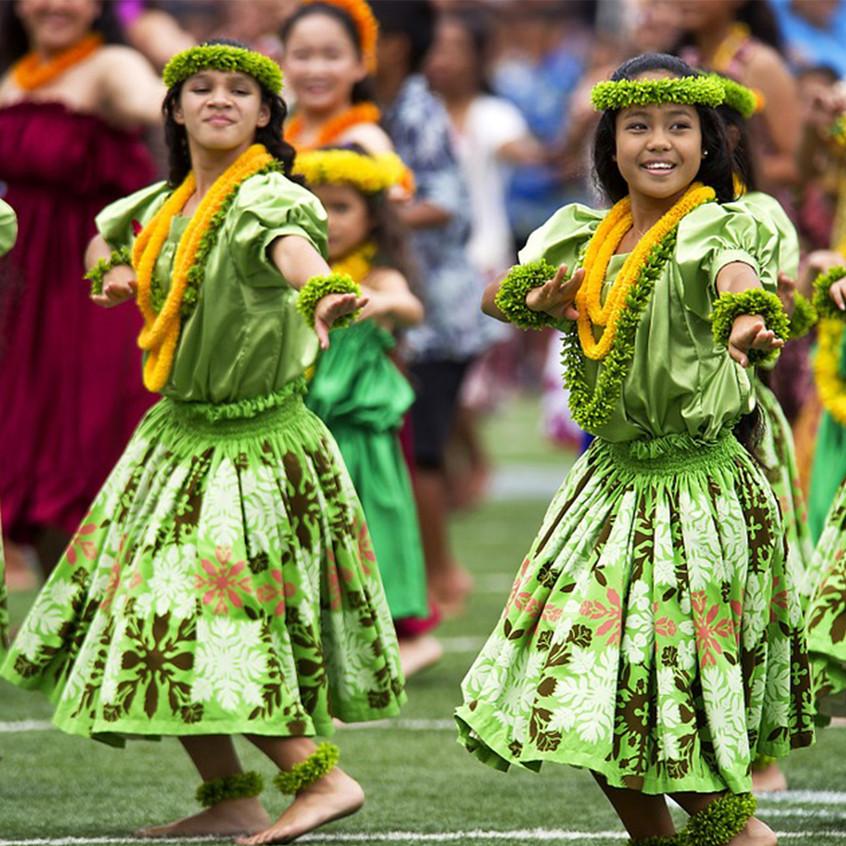 Dances traditionnelles / Hawaii