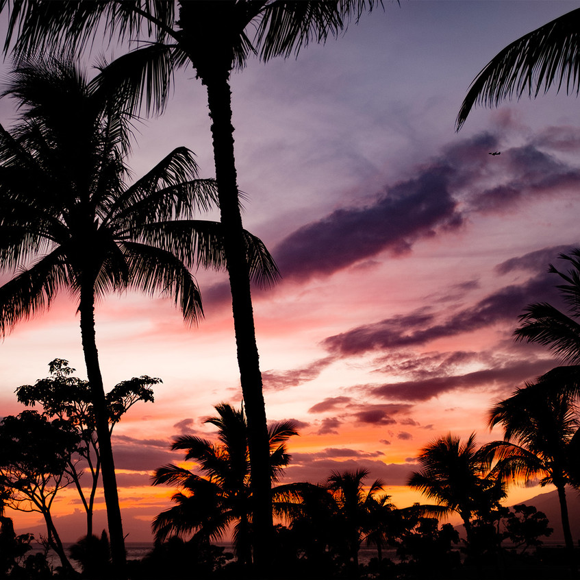 Sunset / Hawaii