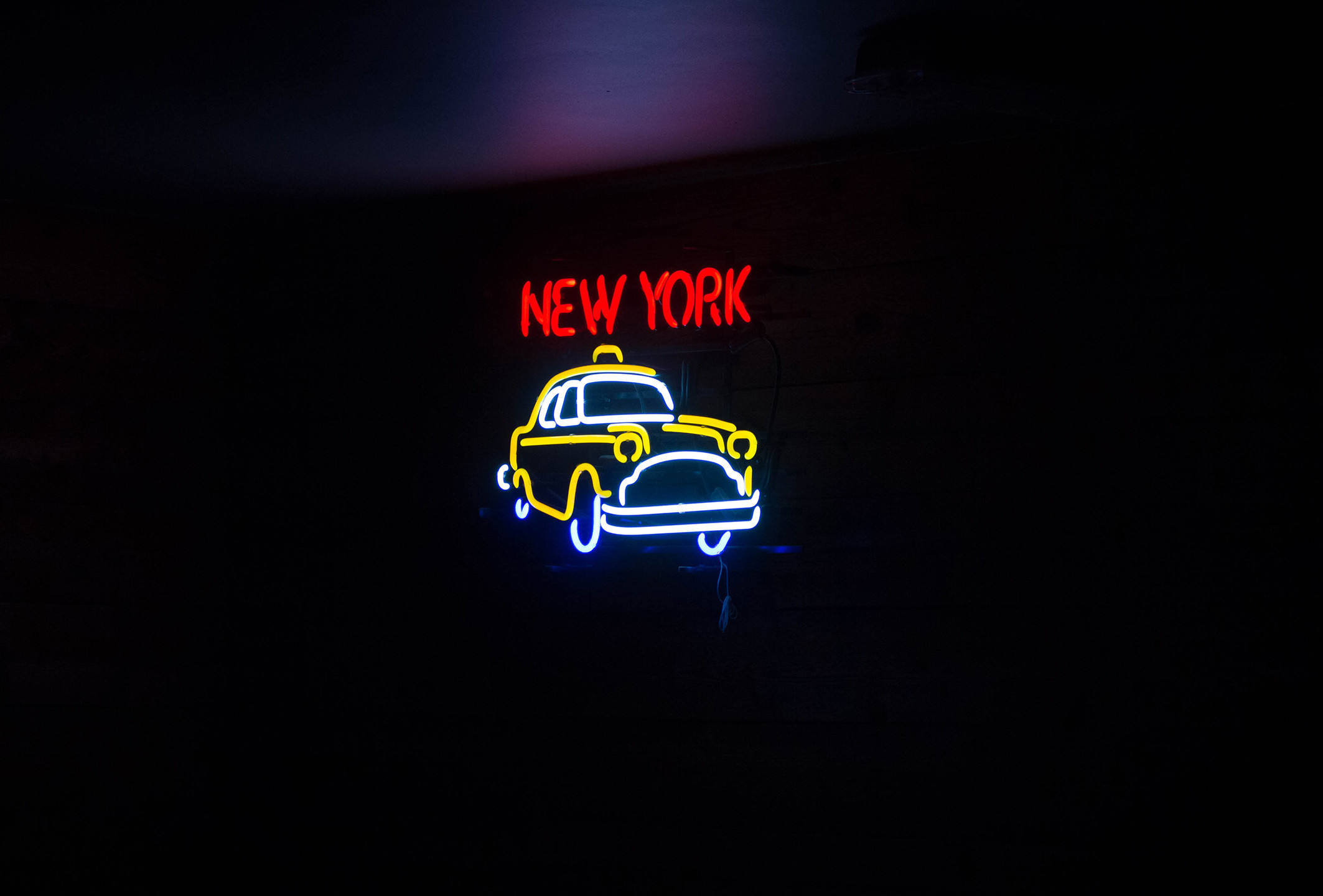 Taxi sign / NYC