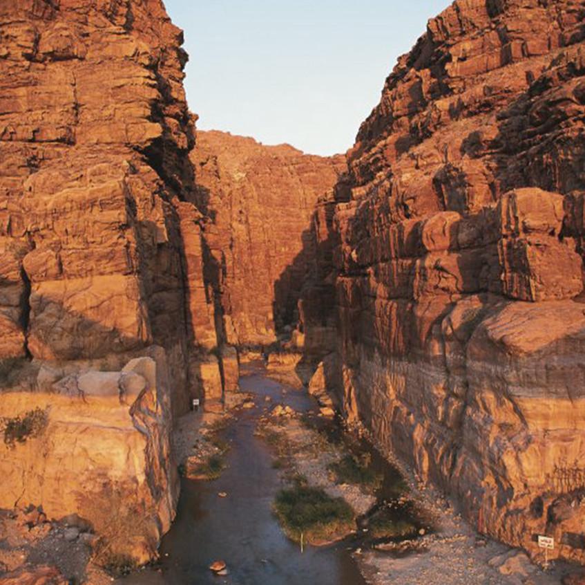 Wadi / Jordanie