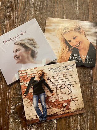 3 CD Package Mix & Match