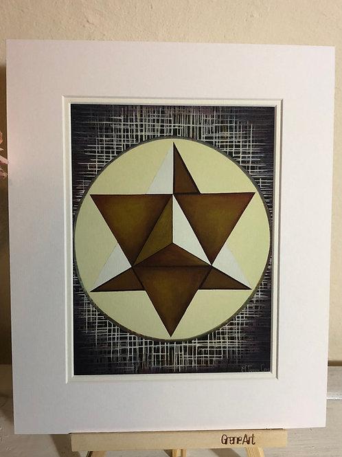 Merkavah - Framed Print