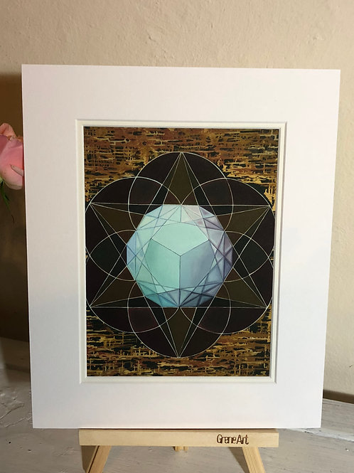 Atlas - Framed Print
