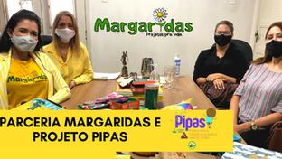 MARGARIDAS PROJETOS E PROGRAMA CRIANÇA FELIZ PIPAS DE DE TIMÓTEO FIRMAM PARCERIA.