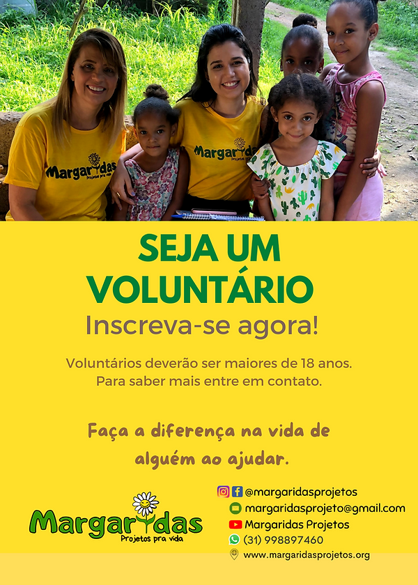 Marrom Idoso Foto Voluntário Panfleto.png