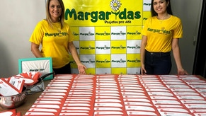 Ação Social: Margaridas Projetos distribui R$ 60 mil em cartões alimentação.