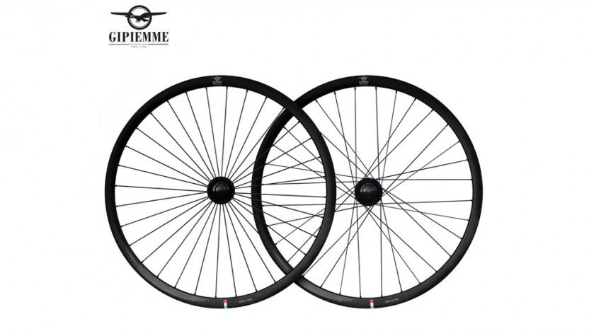 Set de roues GIPIEMME Pista Fixed noir