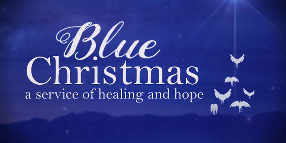 Holy Happy Hour | Blue Christmas
