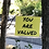 """Thumbnail: """"Stay Strong You Are Worth It"""" Motivational Yard Sign"""