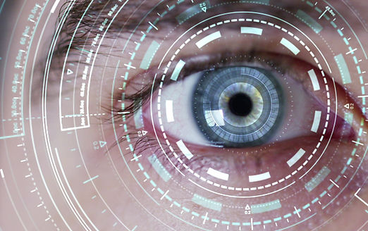 human being futuristic vision, vision an