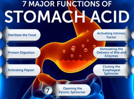 Stomach Acid Causes COVID-19 Deaths