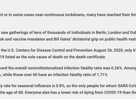 The Real COVID Death Rate