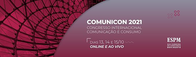 Comunicon 2021 recebe artigos até 2 de agosto