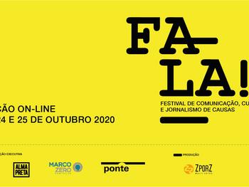 Festival Fala! debate jornalismo de causas, cultura e comunicação no SESC SP