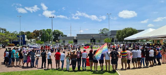 Manifestação contrária ao atual governo foi realizada nesse 7 de setembro em Roraima