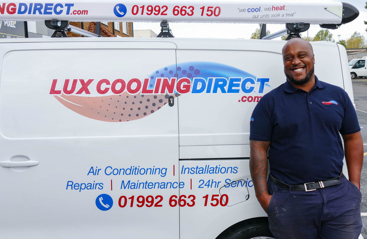 Lux Cooling Direct Business Brand Photography