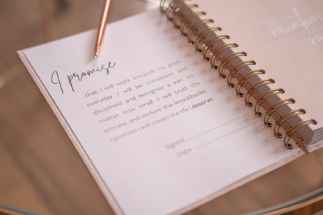 Perform Planner product photography