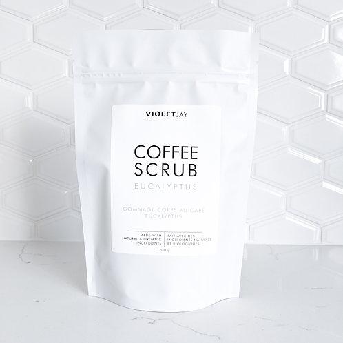 EUCALYPTUS Coffee Scrub