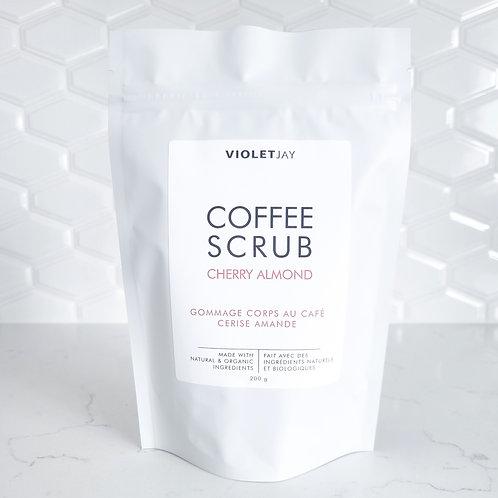 CHERRY ALMOND Coffee Scrub