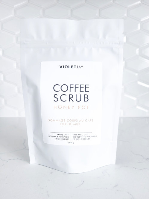HONEY POT Coffee Scrub