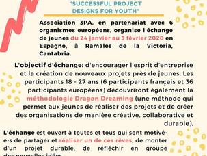 Offre d'échange de jeunes à Ramales (Espagne) Janvier/février 2020