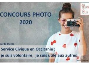Concours photos sur le thème « Service Civique en Occitanie : je suis volontaire, je suis utile aux
